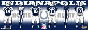 New Indianapolis Colts Uniform by Dubs2theJ