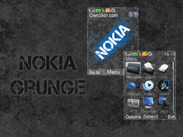 Nokia Grunge Theme by DrM94