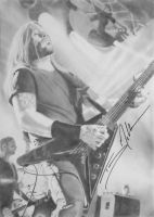 My drawing signed by Troy McLawhorn by Nati-Ev