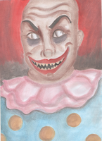 Evil Clown by Susy-Galery