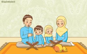 Reading Qur'an by tieq