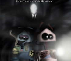 Weekly Adventures: Slender man is coming by Finjix
