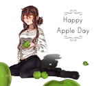 Happy Apple Day~ by Tomokou