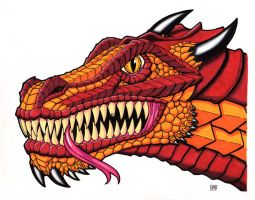 Dragon Head Color by TheRigger