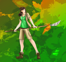 Adela: Tiro of Nature by ZombieOwl