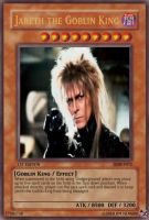 Jareth Monster Card by unlabeledpunk