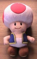Toad Plushie by s325Diana