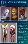 11e COMMISSIONS ! by Meet-our-Maker