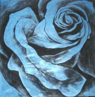 Rose Painting by way2col4u