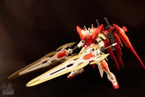 HGBF Wing Zero Honoo Custom (3) by deadlyzulwarn