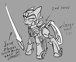 Megamare X - B0N by Underpable