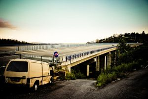 The end of the road by thomasdelonge