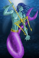Merman in Color by MShades