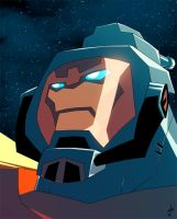 TF Animated Omega Supreme by dcjosh