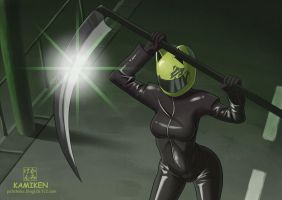 Celty by Kamiken1