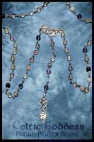Celtic Goddess Pagan Rosary by Lindowyn