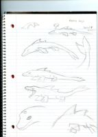 Dolphin kaiju concept by Dinoboy134