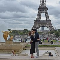 Kiss in Paris by Nile-Paparazzi