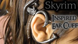 Dragon Ear Cuff (skyrim) Tutorial by NerdEcrafter