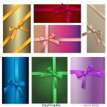 Colored-sheet and ribbons by KmyGraphic