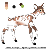 Adoptable fawn_CLOSED by Aquene-lupetta