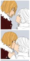Happy New Mello x Near Year by KurosakiAkane
