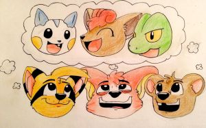 They Dream of Being the Very Best by McKrunkel