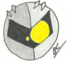 Funny Meta Knight Face by BlackCarrot1129