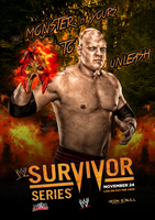 WWE SURVIVOR SERIES 2013 - custom poster by TheIronSkull