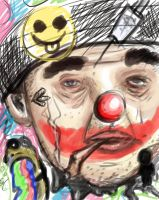 sad clown by hot-patato