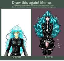 Fue meme  before and after by rabbittheking