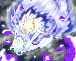 Hypno VS Mewtwo by Chibi-Warmonger