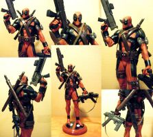 "Deadpool Custom 12"" Statue by JasonCasteel"