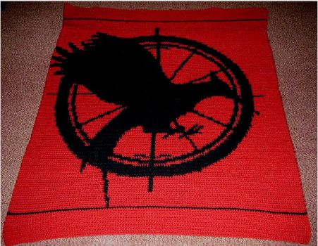 Catching Fire Cover Blanket by Shywalker