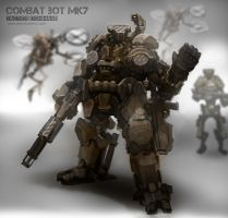 Combat Bot MK7 - Tactics Command by alexdrummo
