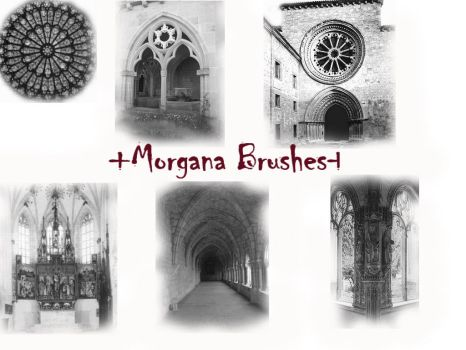 Morgana Gothic Places Brushes by morgana-