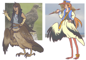 OTA birdtaur adopts (closed)! by boblitt
