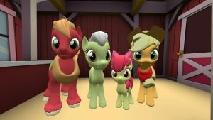 The Apples Family by Fullmoonrose7