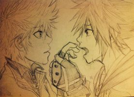 Roxas! You are you, we're not the same!! by KimiKhali