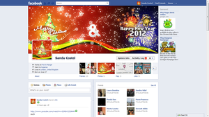 Facebook Christmas Cover by LETSOC