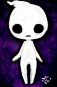 Chibi Ghost in Space by JakeTheChild