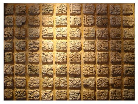 mayan writing translation