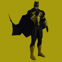 Sinestro Corps Batman by Sticklove