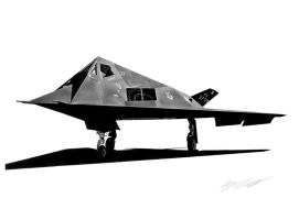 F-117A Nighthawk by Sketchh22