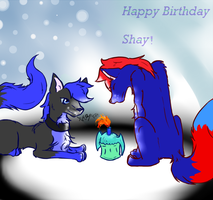 Happy Birthday Shay by Wolf-In-Tears