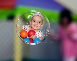 Bubble Girl by EyeInFocus