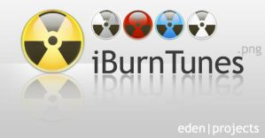 iBurnTunes Icons V1 by edenprojects