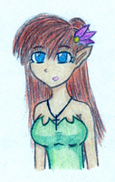 Clairissiana Bust Color by EsotericDichotomy
