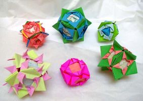 spiky kusudama by wombat1138