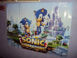 Sonic Generations Poster by DazzyDrawing
